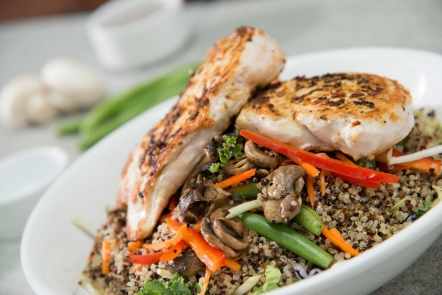 Chicken Quinoa Bowl